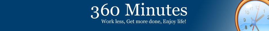 360 Minutes Logo